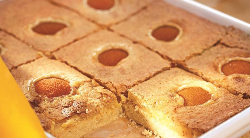 Пирожные «Абрикосовые»