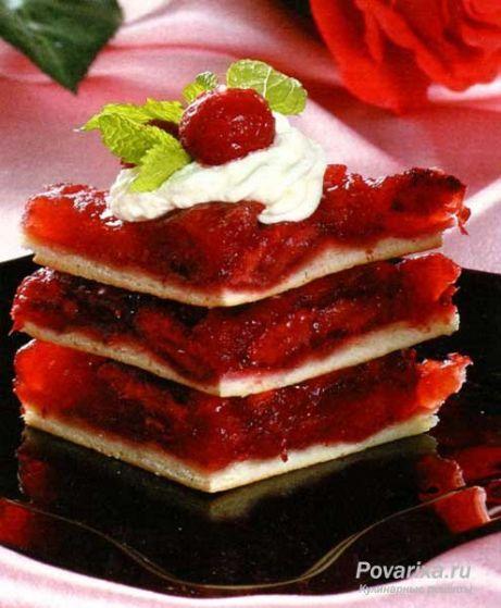 Пирожные «Клубничные»