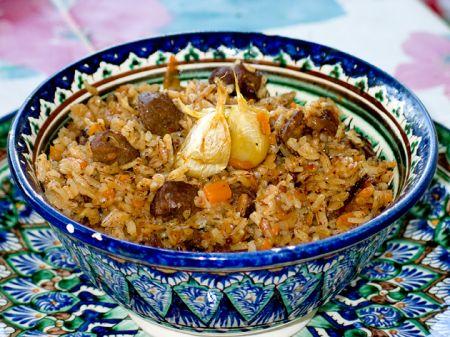 Плов из баранины с рисом