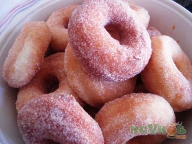Пончики «Ромовые»