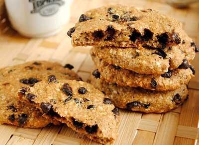 Ржаное печенье с изюмом
