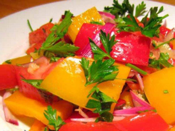 Салат из перца