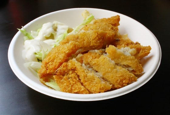 Салат из жареного судака по-китайски