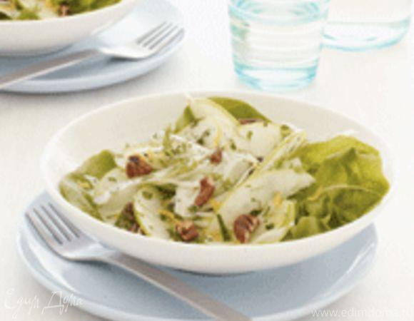 Салат с корнем фенхеля