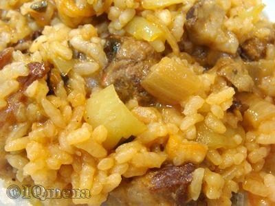 Шавля (суп с рисом)