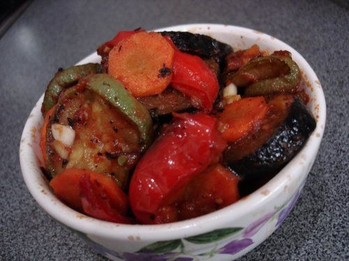 Соте из картофеля и салями