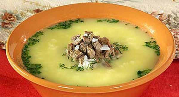 Суп из баранины по-турецки