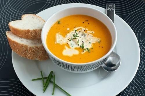 Суп сладкий со сливками