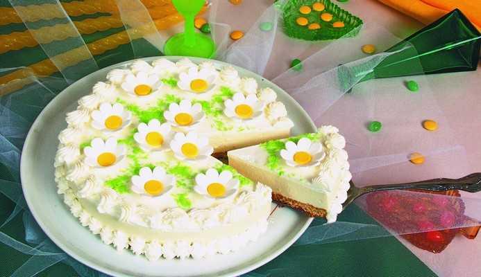 Творожно—сметанный торт «Ромашка»