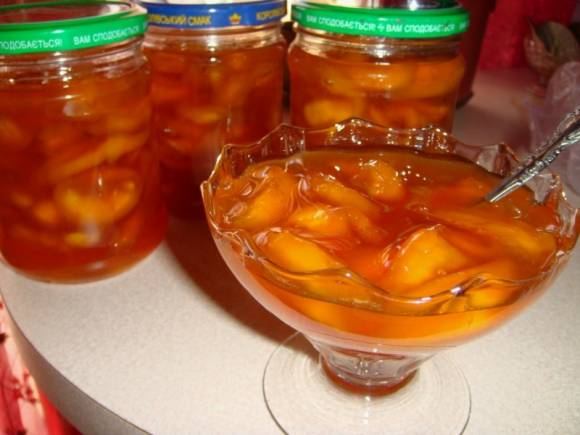 Тыква, консервированная с листьями лимонника