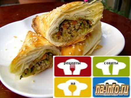 Хошан (пирожки с мясом)