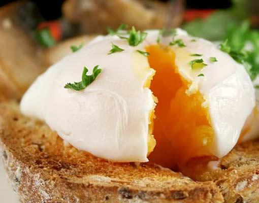 Яйца пашот по-американски