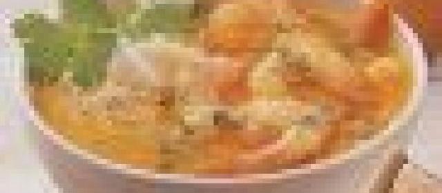 Закуска из дайкона и консервированной сайры