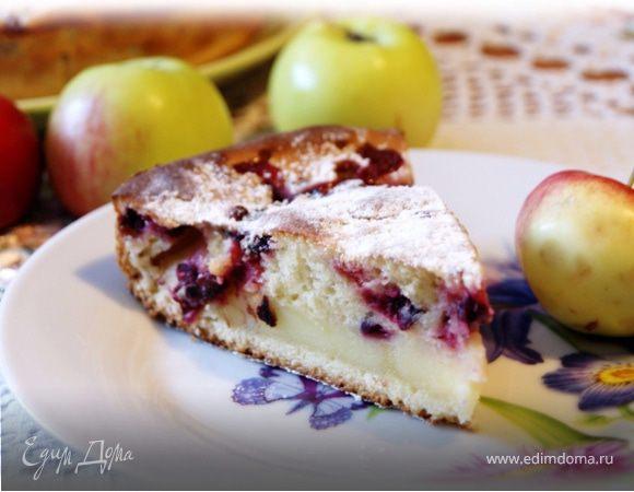 Торт «Яблочно-клюквенный»