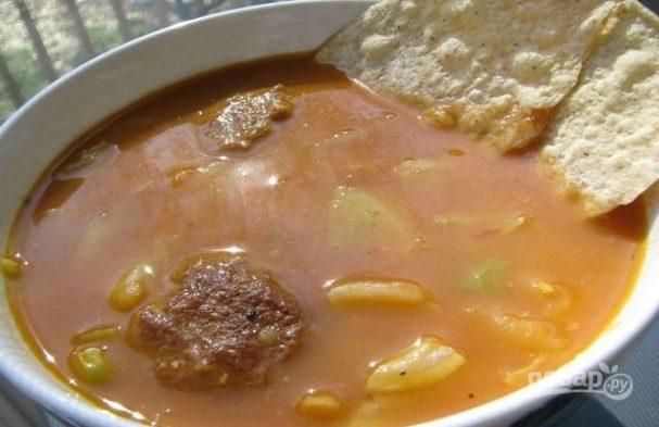 Гайнатма (мясной суп с горохом)
