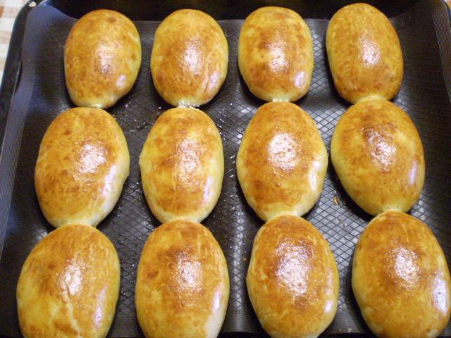 Пирожки из бездрожжевого теста в духовке
