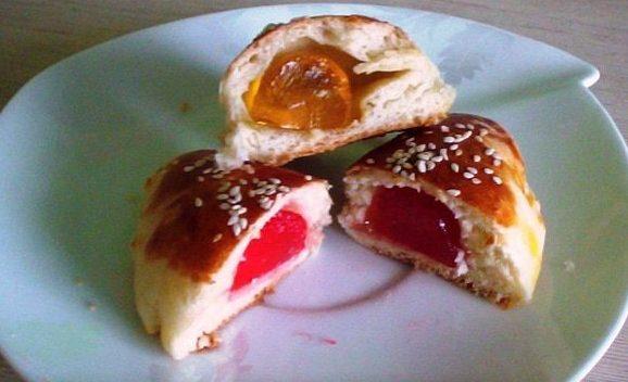 Пирожки с мармеладом