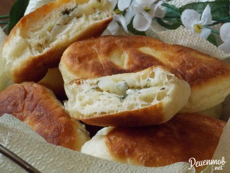 Пирожки со свежей капустой (1 вариант)