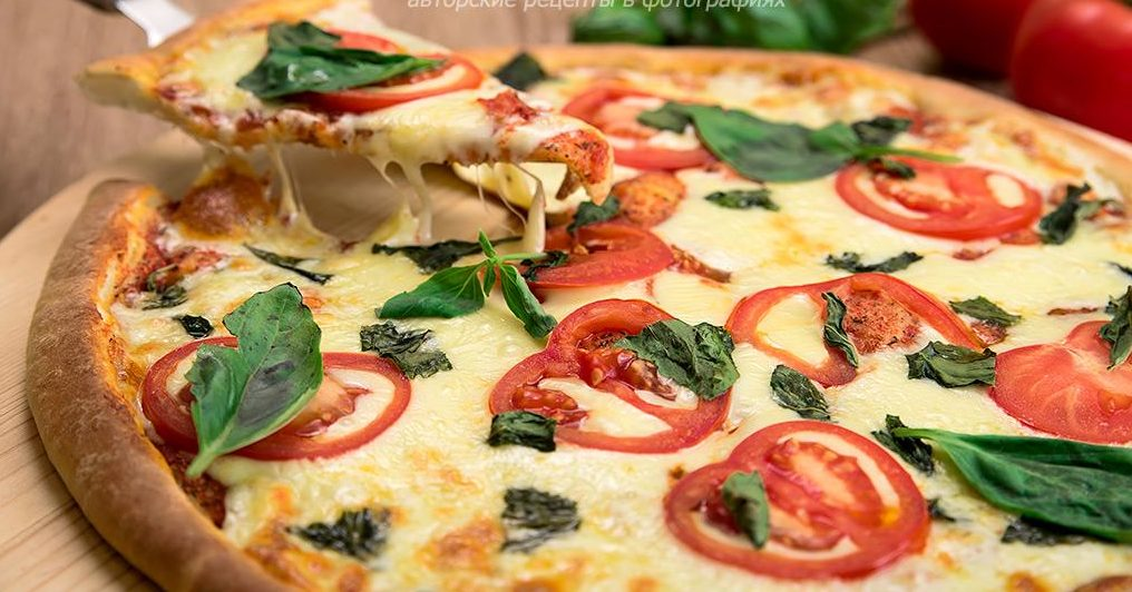 Рецепты классической пиццы «Маргерита»