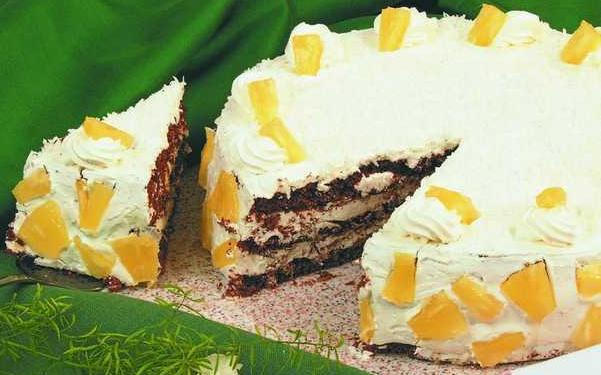 Ананасовый торт «Очарование»