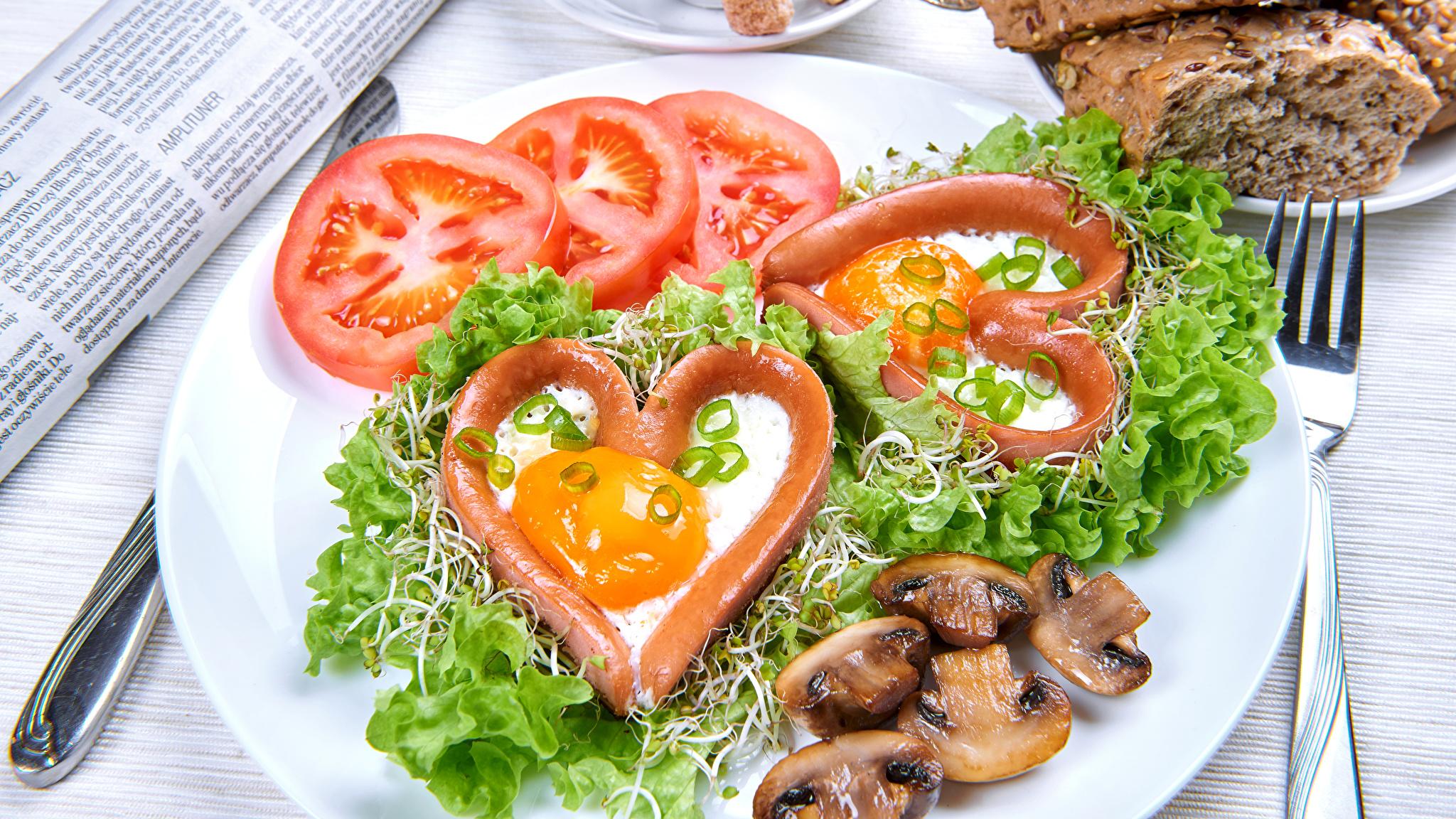 Накрываем праздничный стол на День всех влюбленных